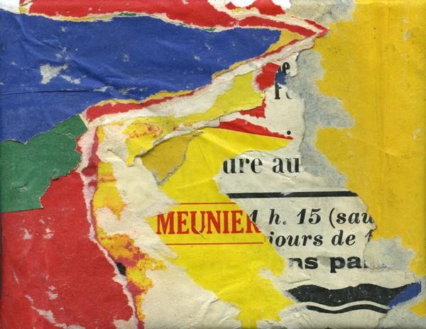 Jacques Villeglé, Rue Colette Duval, nov 1960